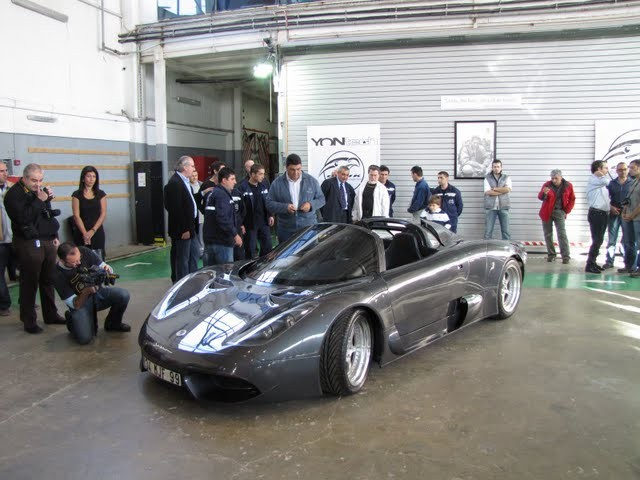 Onuk Sazan Turkish Supercar Unveiled