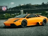 Orange Lamborghini Murcielago LP640 on HRE S101 Wheels