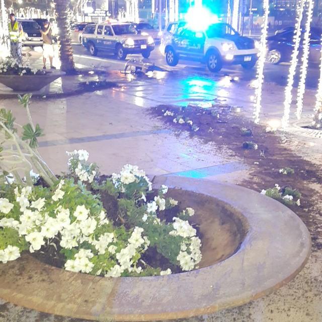 Otros Pagani Zonda F Crash In Dubai