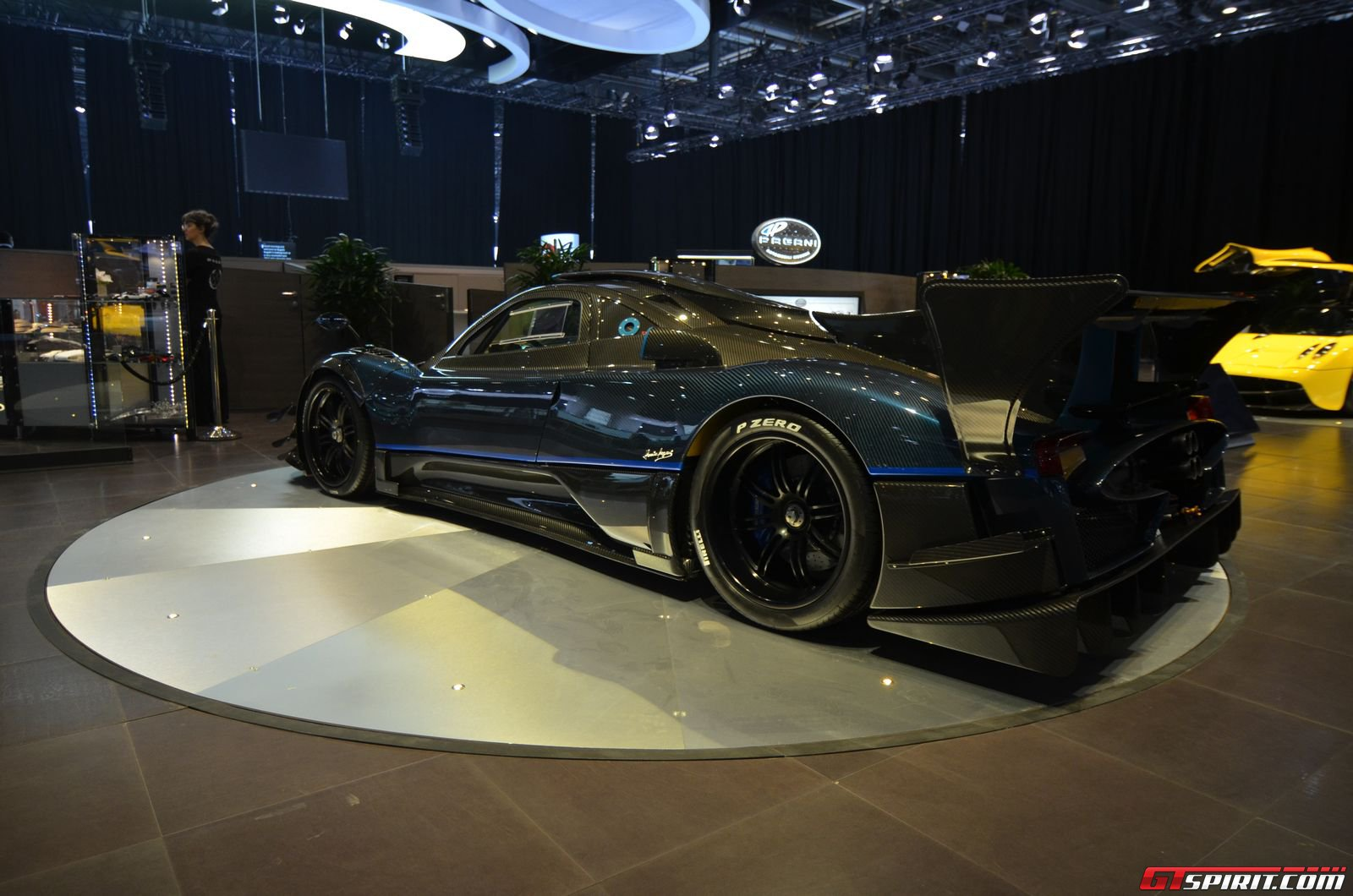 Photo Of The Day Blue Pagani Zonda Revolucion In Japan Gtspirit