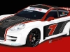 Panamera Race Car on Track