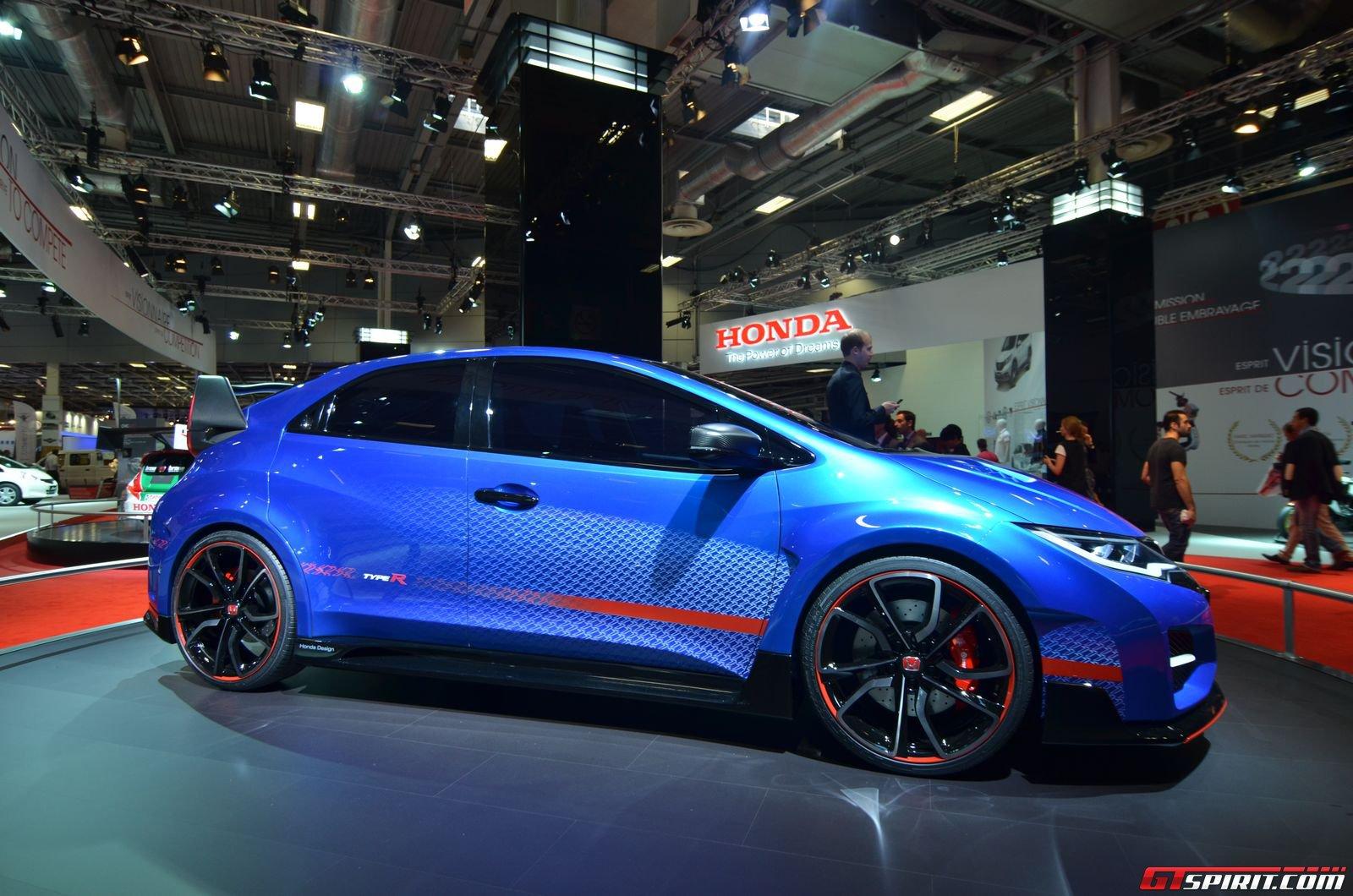 Paris 2014: Honda Civic Type R Concept - GTspirit