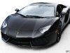 Photo Of The Day Matte Black Lamborghini Aventador LP700-4 Retouched