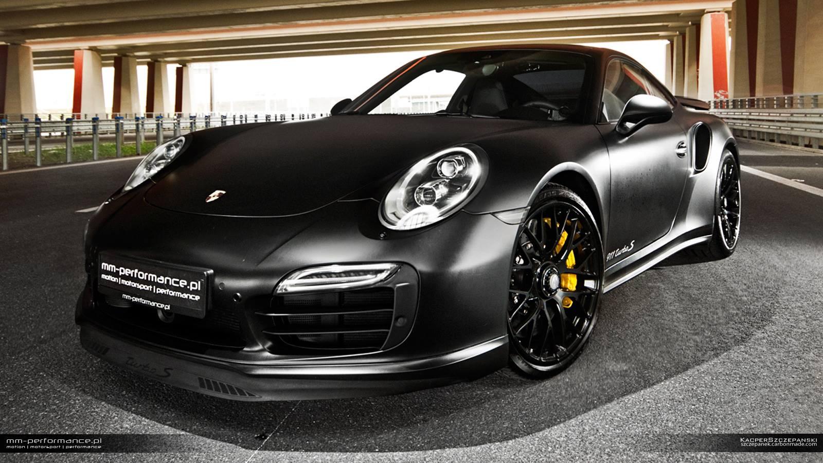 porsche 911 turbo s 7 - Porsche 911 Turbo Black 2000