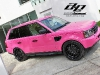 Pink Wrap Range Rover by Al and Eds 007
