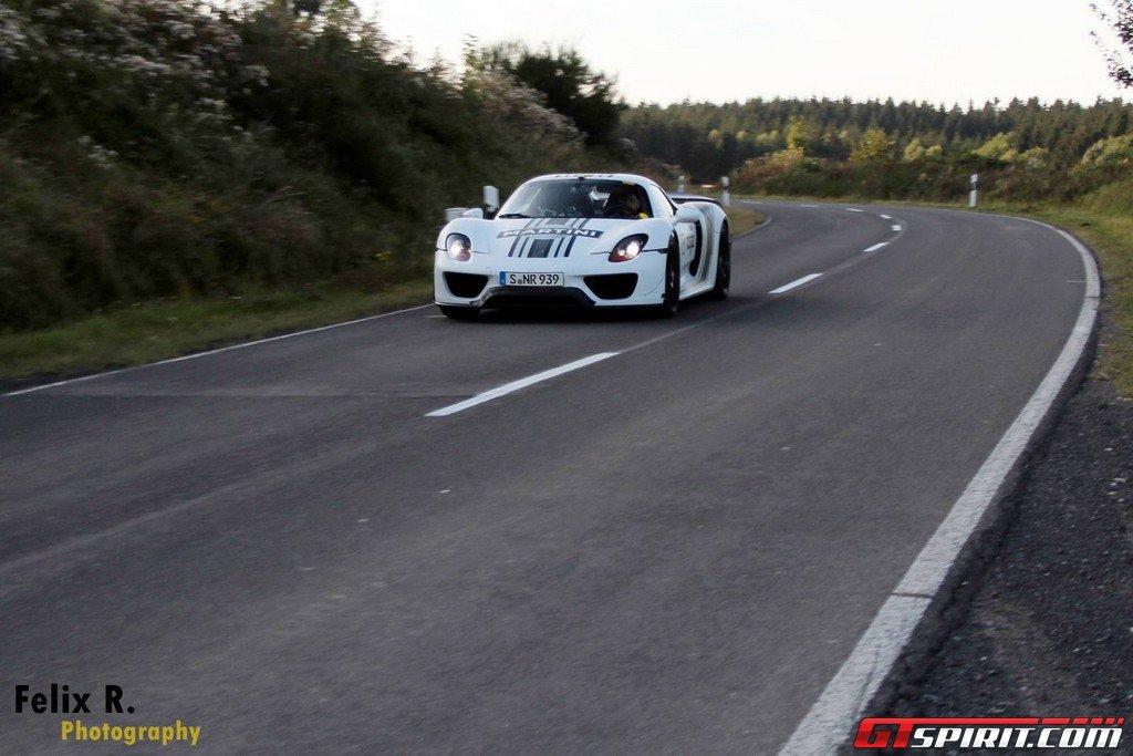 porsche 918 spyder sets nurburgring lap time of 7. Black Bedroom Furniture Sets. Home Design Ideas