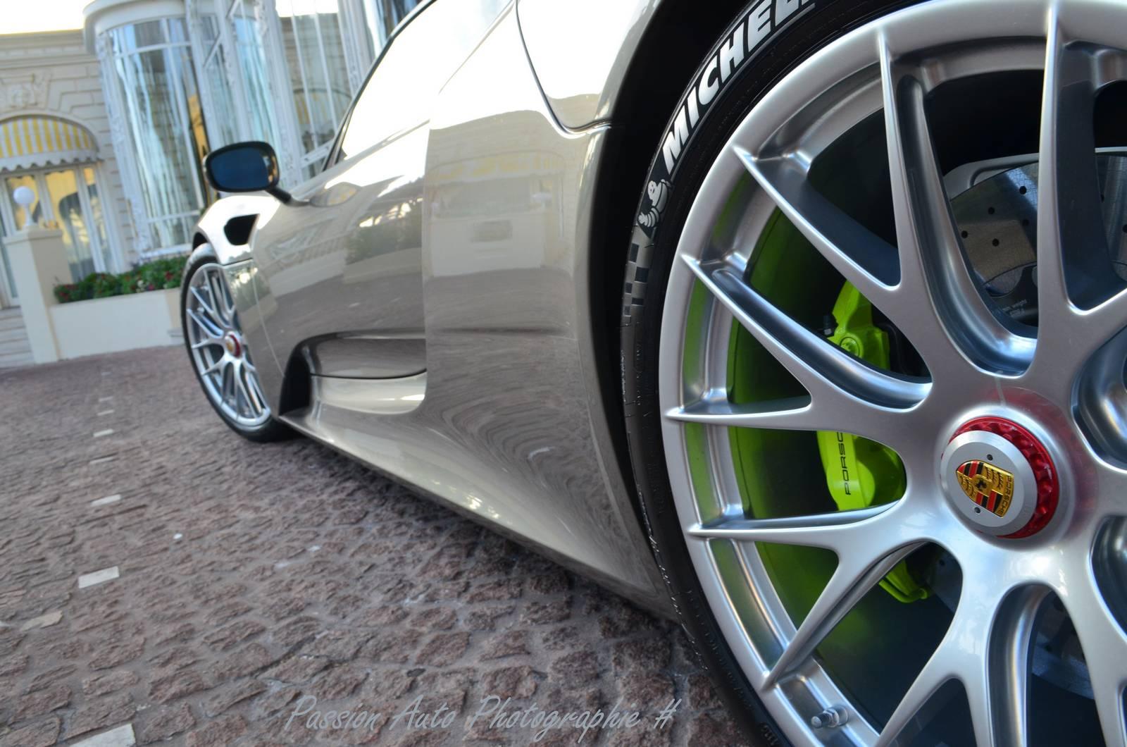 Магниевые колеса Porsche