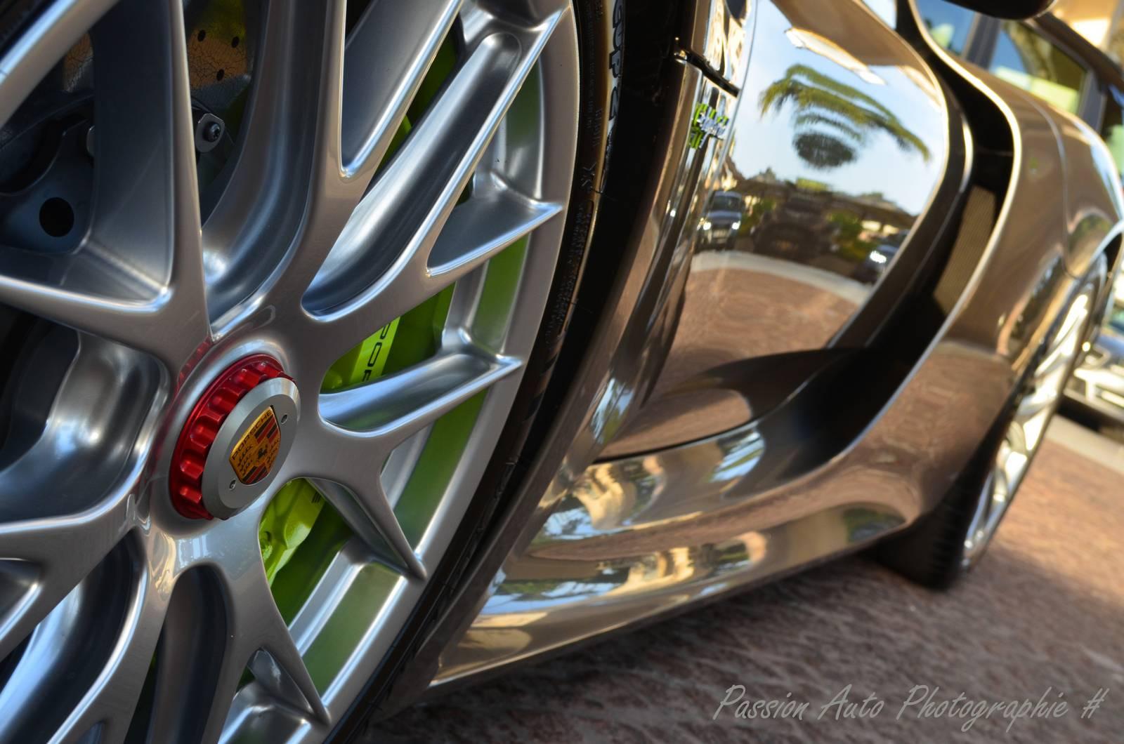 Магниевые диски Porsche 918 Spyder