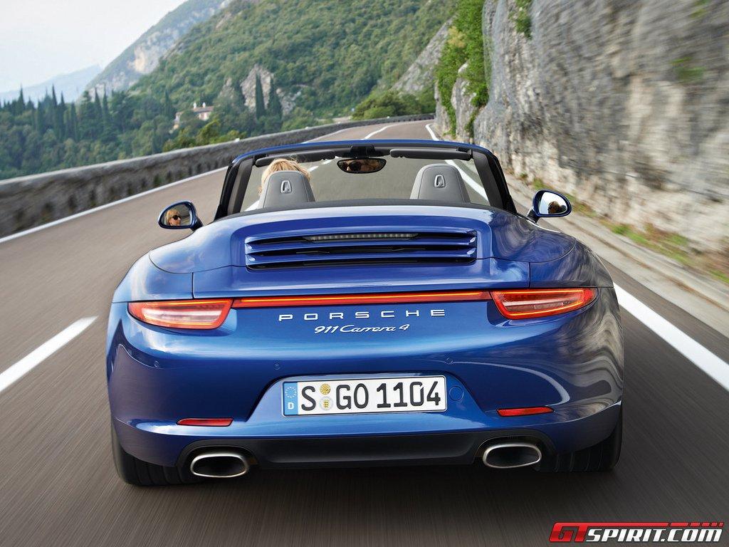 Porsche 991 Carrera 4 and Carrera 4S Leaked Photo 3