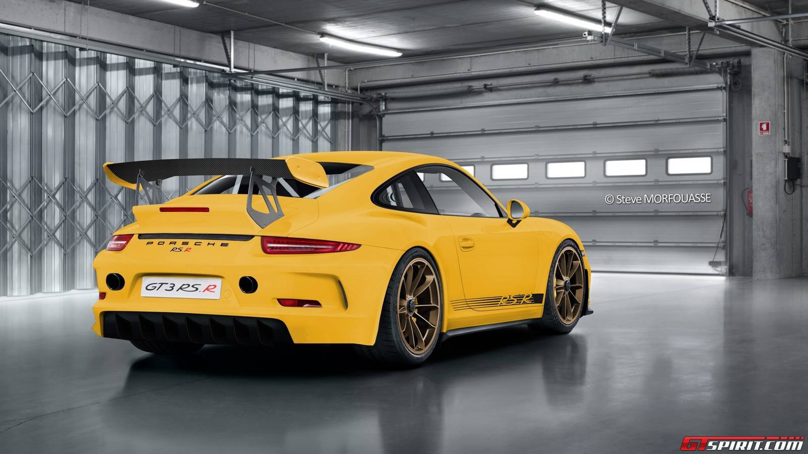 Porsche 991 Gt3 Rs R Project By Steve Morfouasse Is Impressive