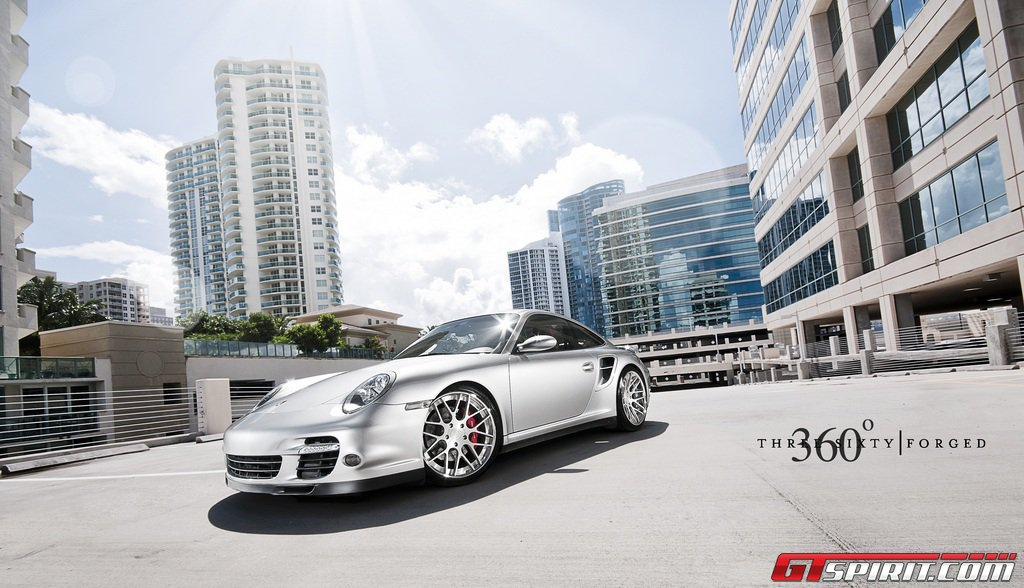2012 360 Forged Porsche 997 Turbo Dark Cars Wallpapers