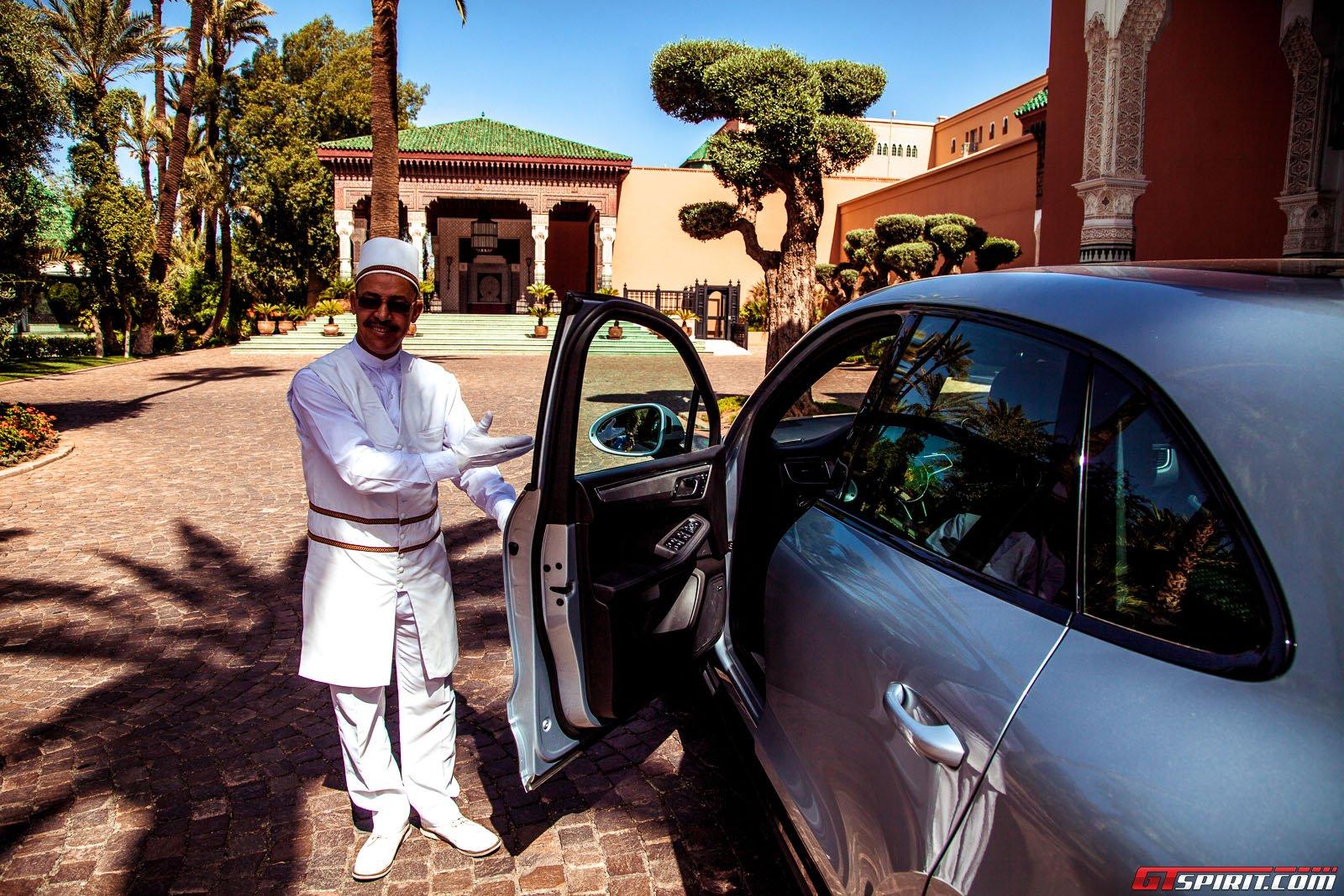 Тест-драйв Порше Макан в Марокко