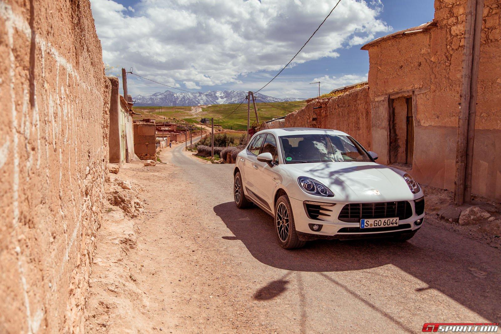 Тест-драйв Porsche Macan в Марокко
