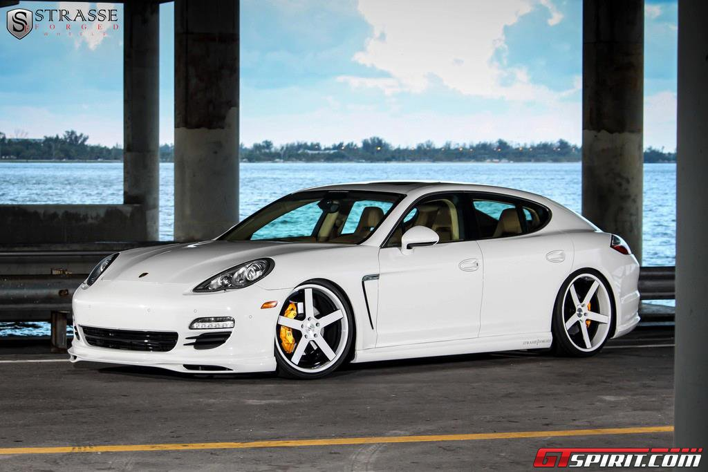 Porsche Panamera On 22 Inch Strasse Forged Wheels Gtspirit