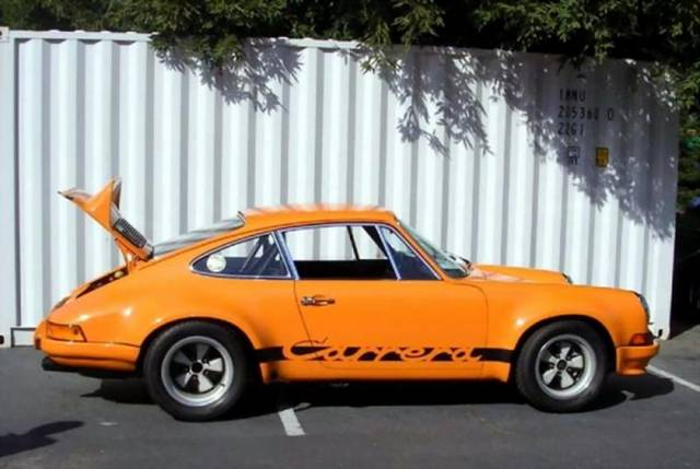 Фото | Porsche 911 Carrera RSR 1973 года