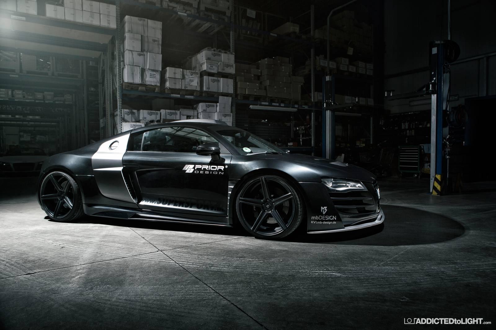 2014 Prior Design - Audi R8 PD850 - Dark-Cars Wallpapers