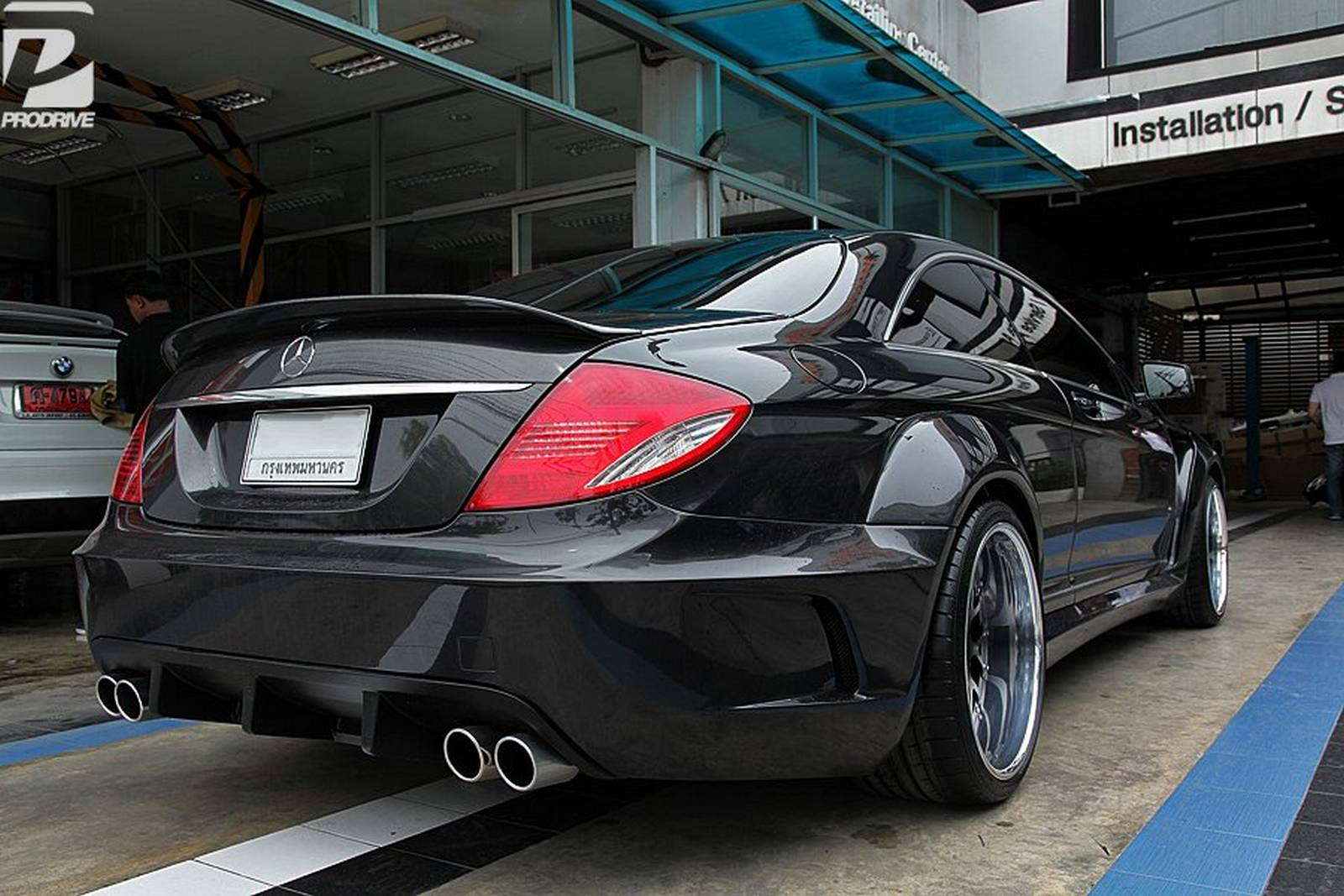 2013 prior design mercedes cl black series widebody dark cars wallpapers. Black Bedroom Furniture Sets. Home Design Ideas