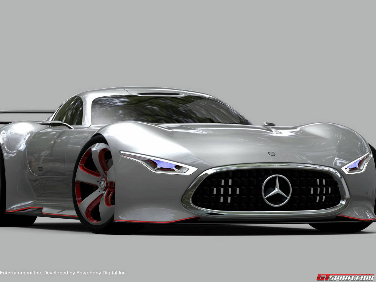 Mercedes benz amg vision gran turismo concept photos and for Mercedes benz amg vision