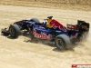 Red Bull Running Showcar In Texas