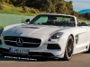 Render Mercedes-Benz SLS AMG Black Series Roadster by Theophilus Chin