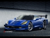 Render Track-Ready 2014 Chevrolet Corvette Stingray by IACOSKI