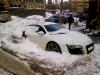 Russian Audi R8 and Maserati Quattroporte Abandoned in the Snow