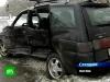 Russian Porsche Panamera Turbo S Wrecked