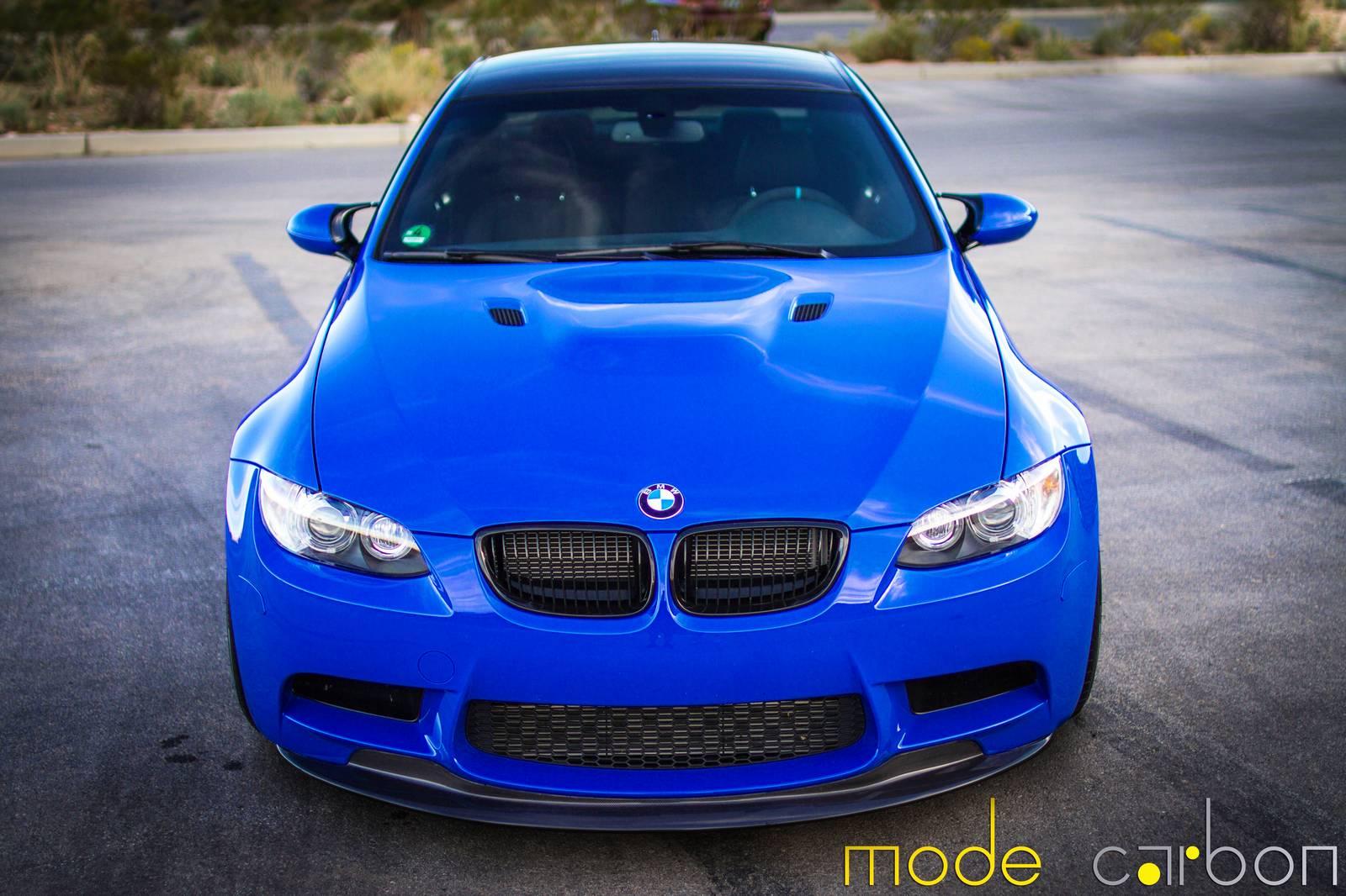 Santorini blue bmw e92 m3 by mode carbon for Santorini blue paint