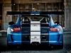 Satin Blue Porsche GT3RS by Royal Muffler