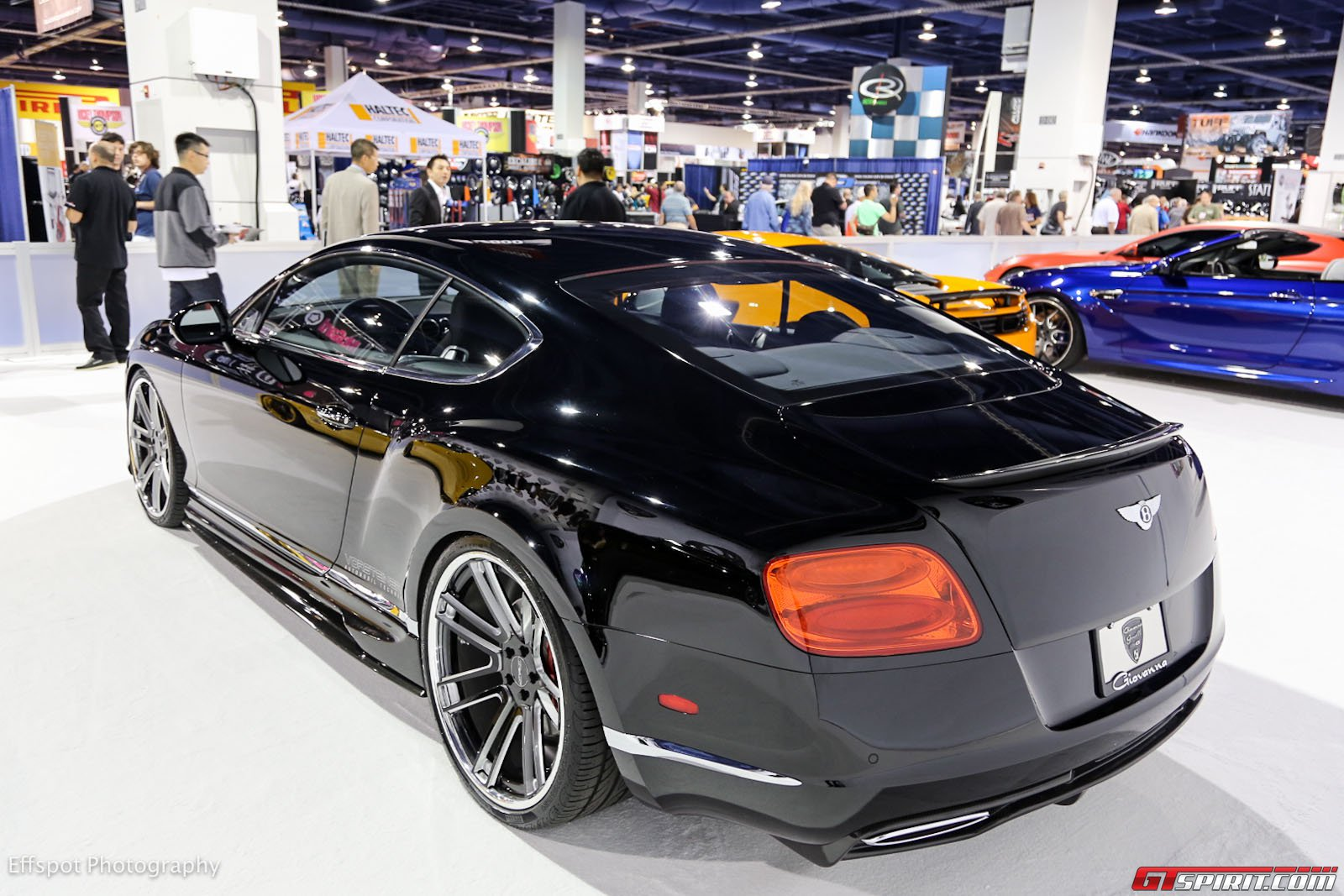 Sema Show 2012 Bentley Continental Gt Br 10 Par