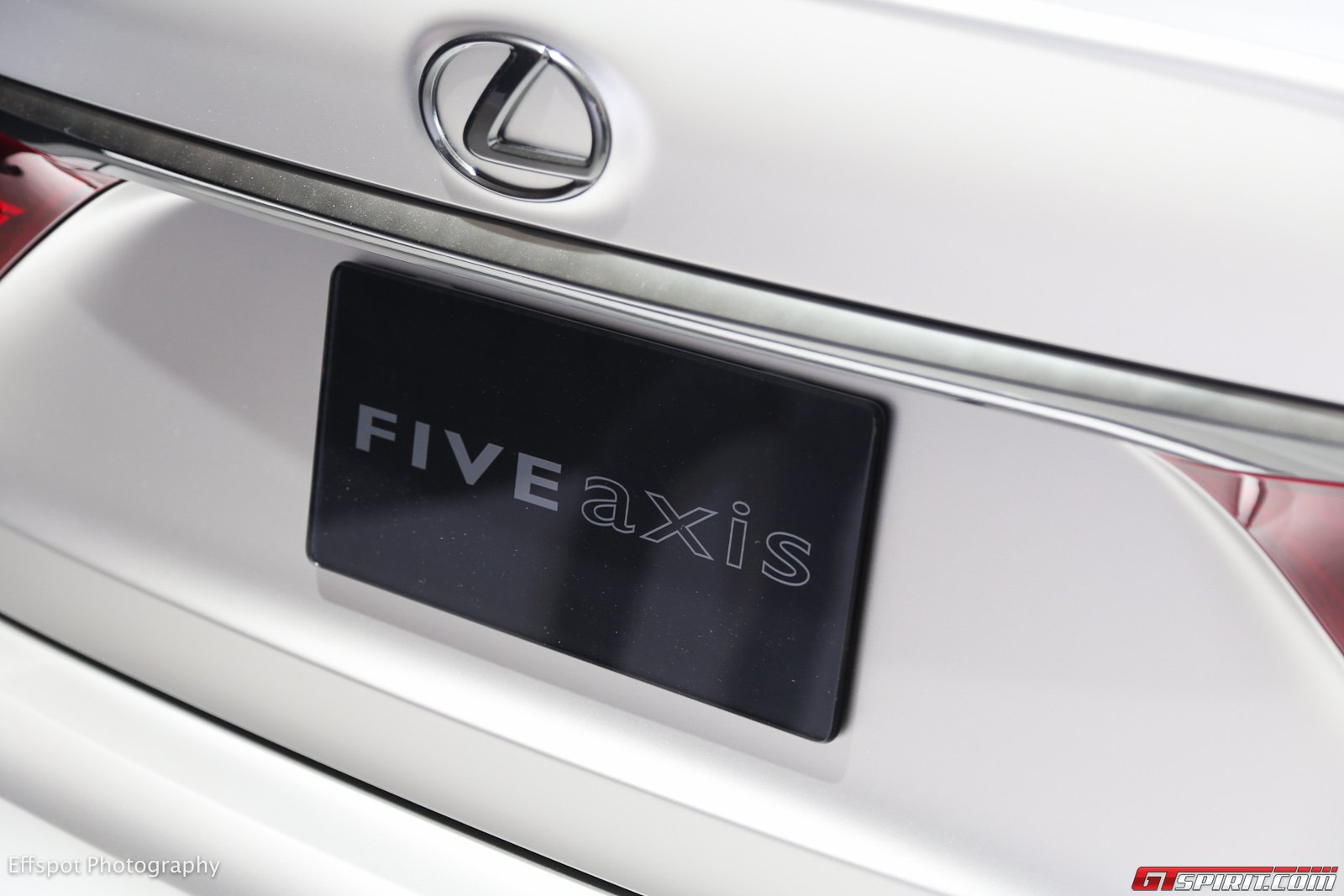 مشروع تعديل ls  f sport بواسطة five  axis