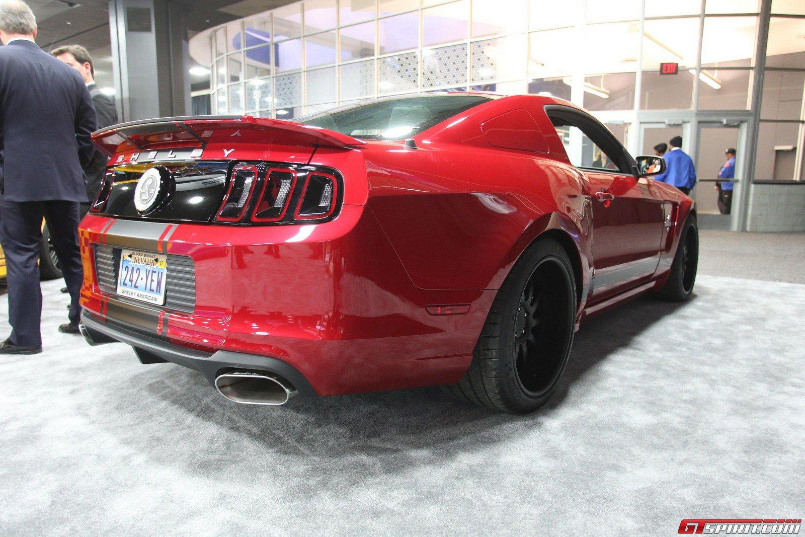 Detroit 2013 Shelby GT500 Super Snake Widebody