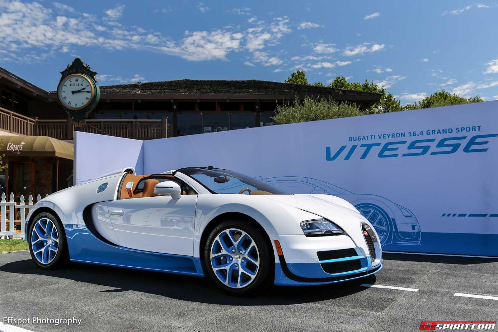special edition bugatti veyron grand sport vitesse at monterey 2012. Black Bedroom Furniture Sets. Home Design Ideas