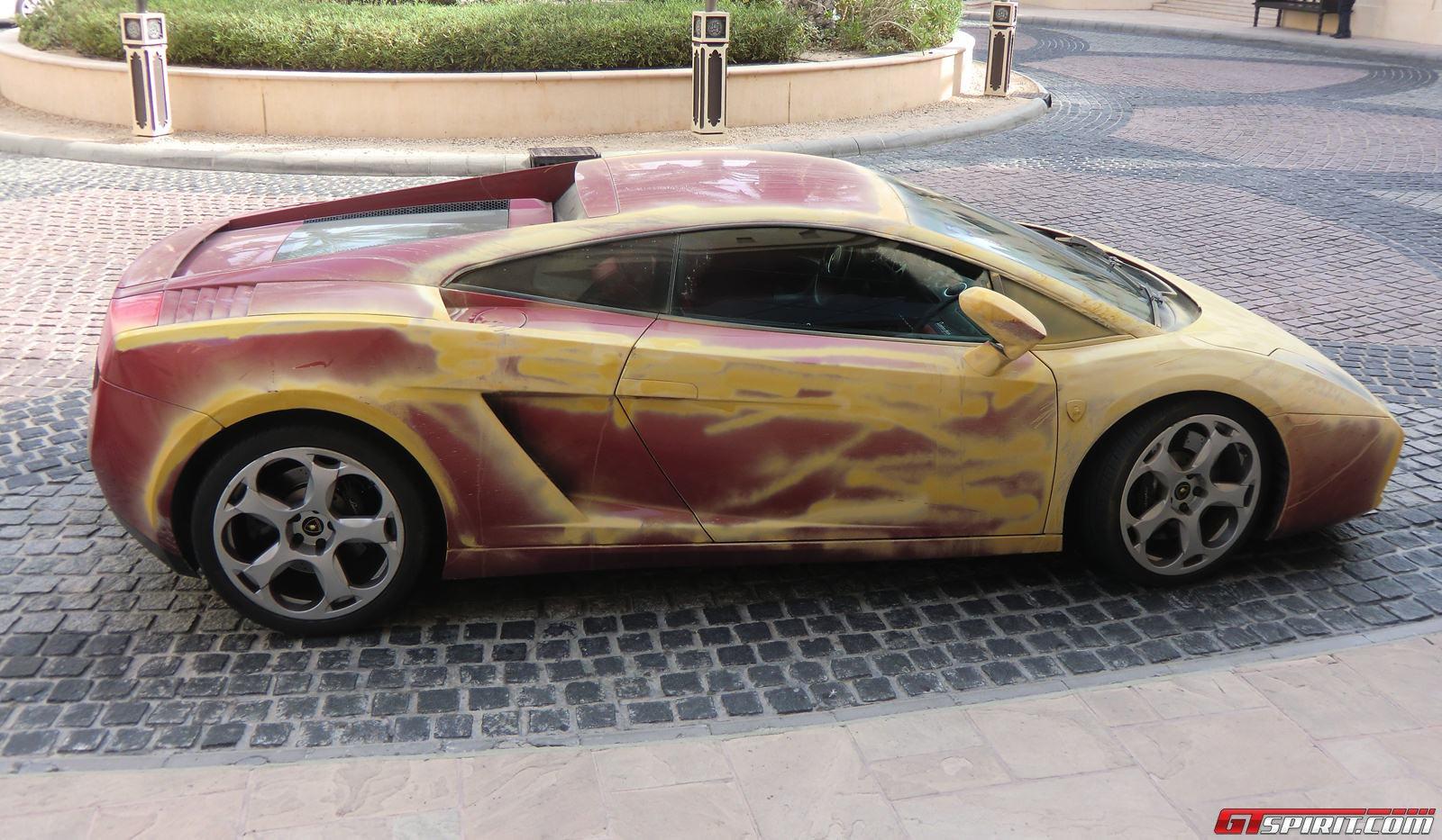 Spotted Sandy Lamborghini Gallardo Photo 1