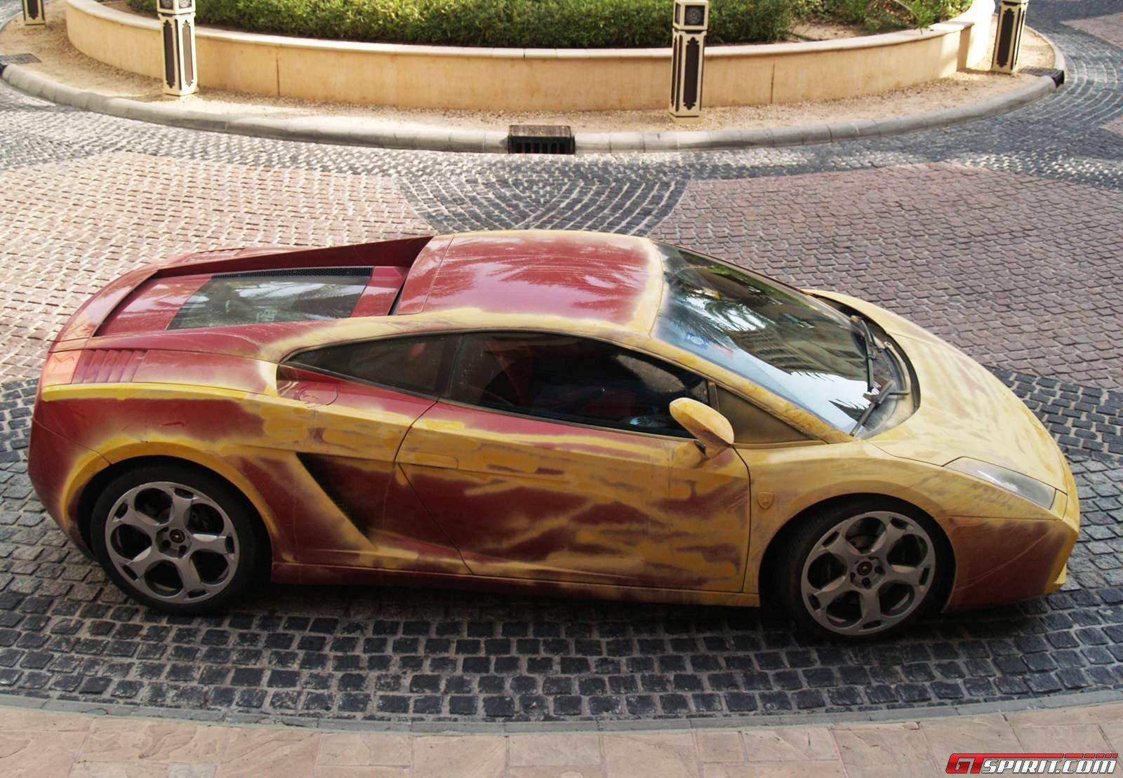 Spotted Sandy Lamborghini Gallardo Photo 3
