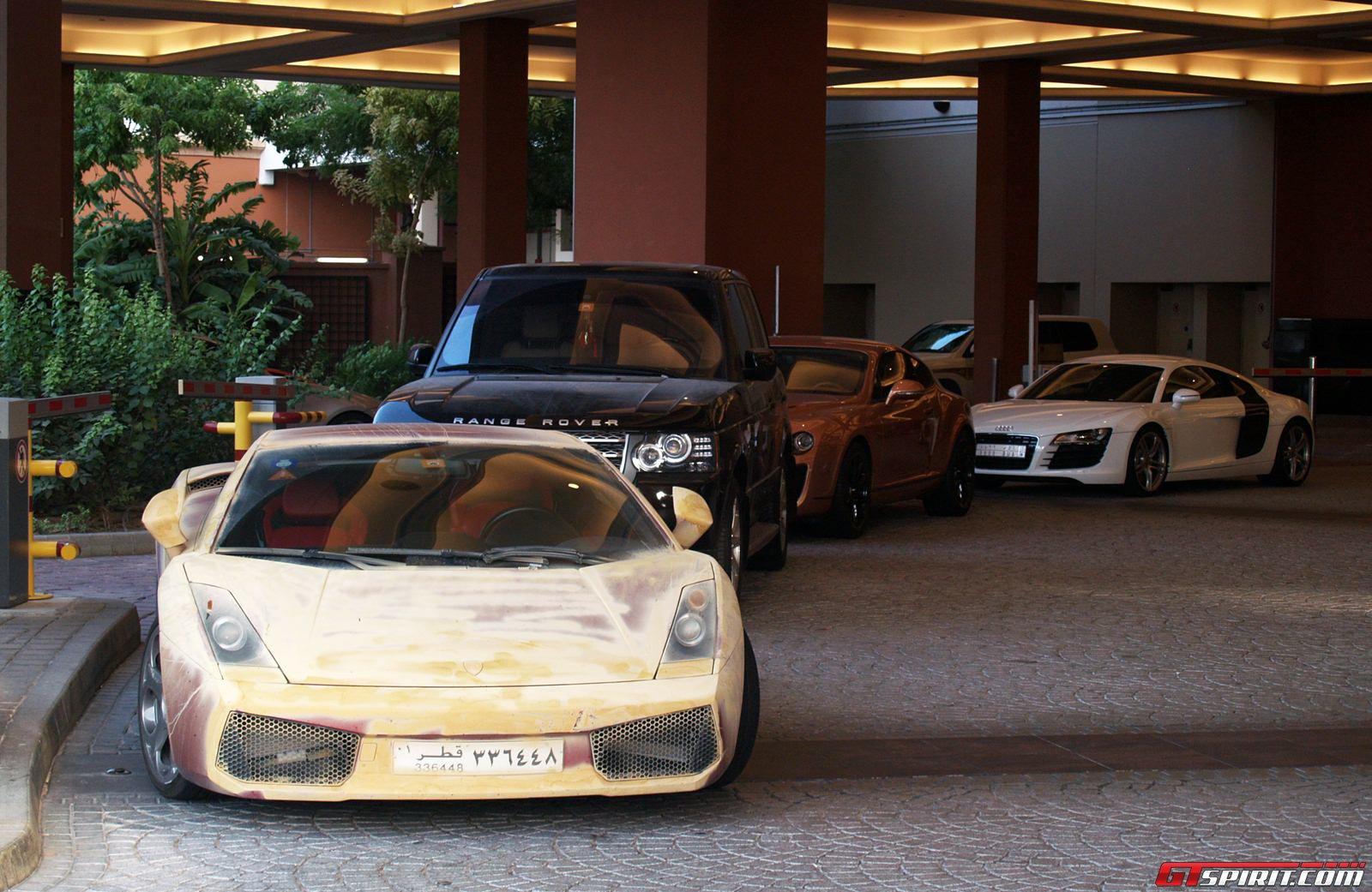 Spotted Sandy Lamborghini Gallardo Photo 4