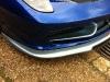Spotted Blue and Chrome Ferrari 458 Italia