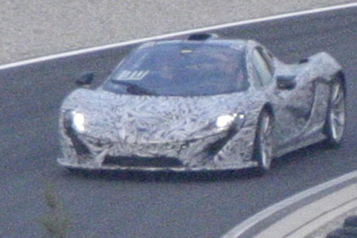 Spyshots McLaren P1 Production Model Photo 1