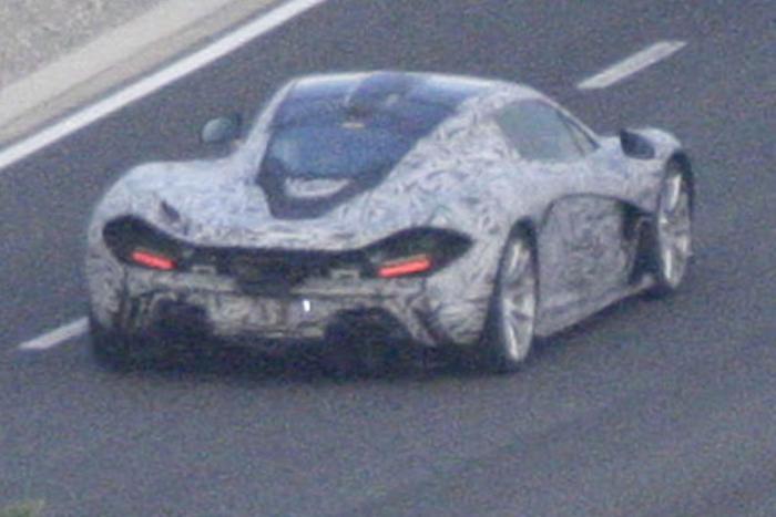 Spyshots McLaren P1 Production Model Photo 4