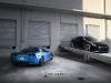 Strasse Forged Wheels Matte Blue Corvette Z06