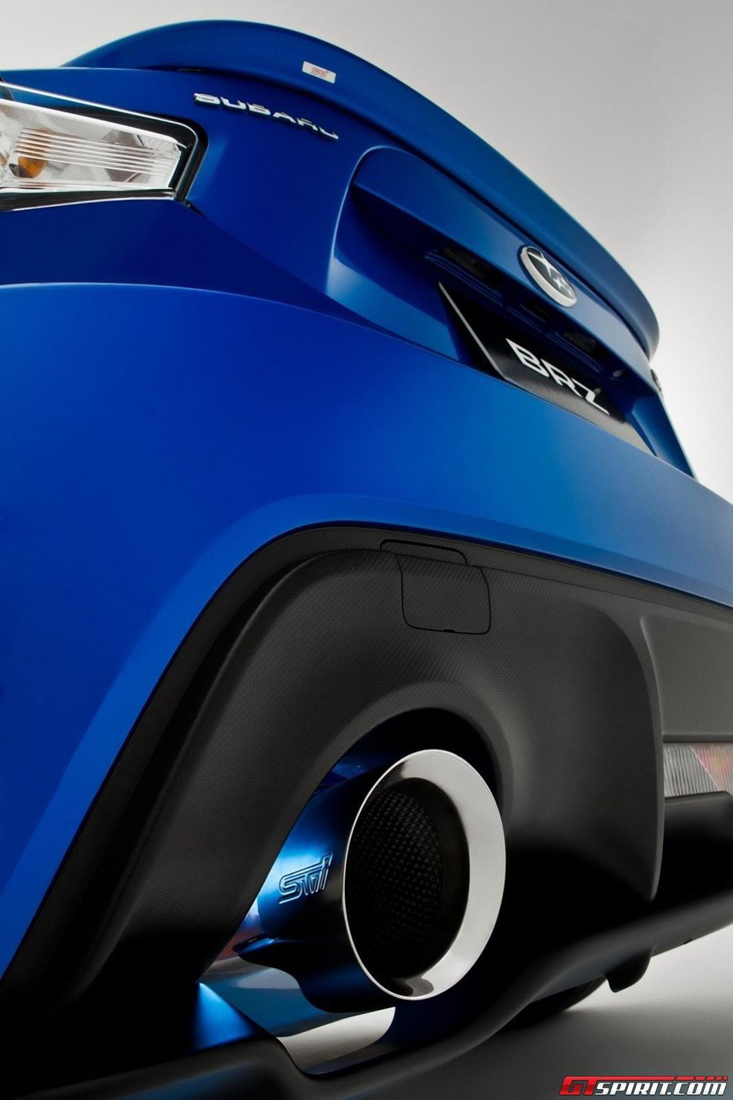 Official: Subaru BRZ with STI Performance Parts - GTspirit