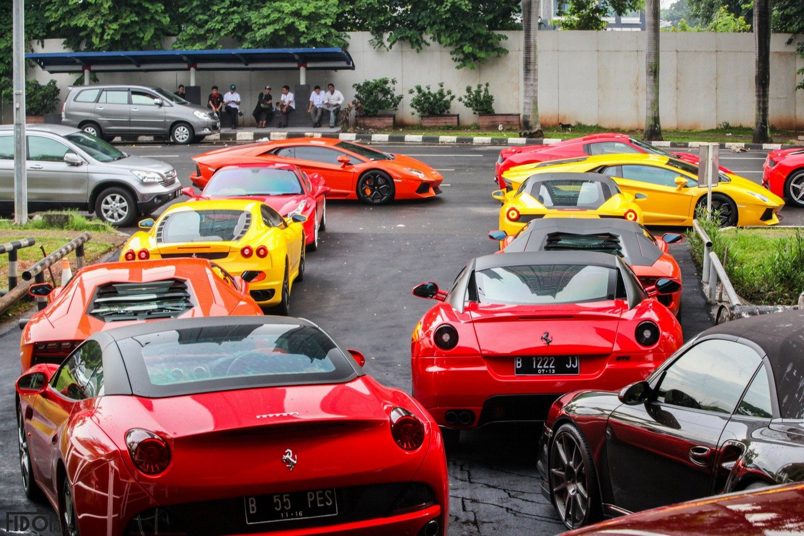 Supercar Club Of Indonesia Goes To Kamang Part Photos
