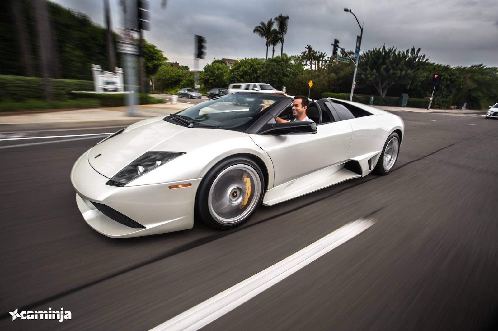 Фото Lamborghini Murcielago Roadster