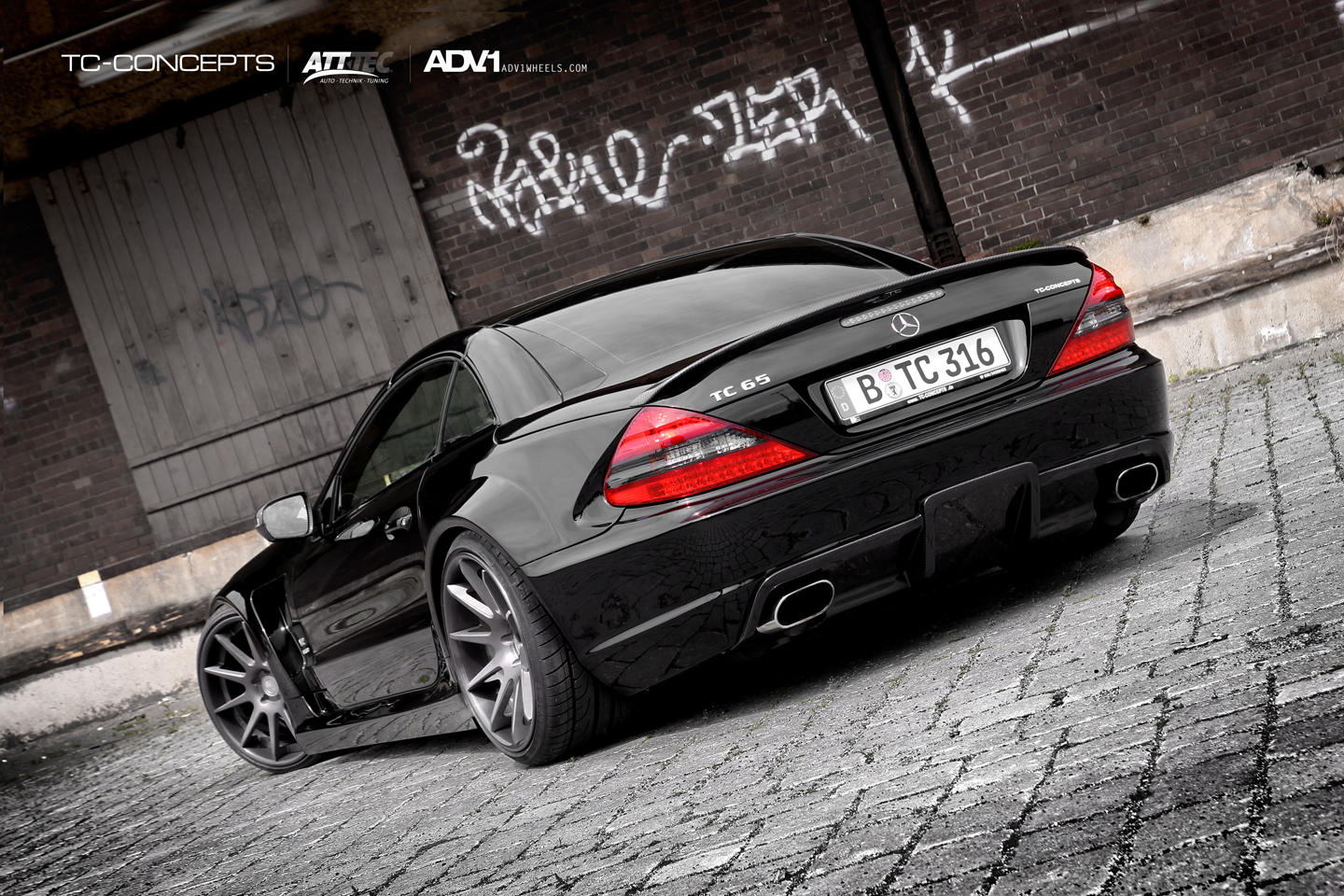 2010 tc concepts sl65 amg black s ries dark cars wallpapers. Black Bedroom Furniture Sets. Home Design Ideas