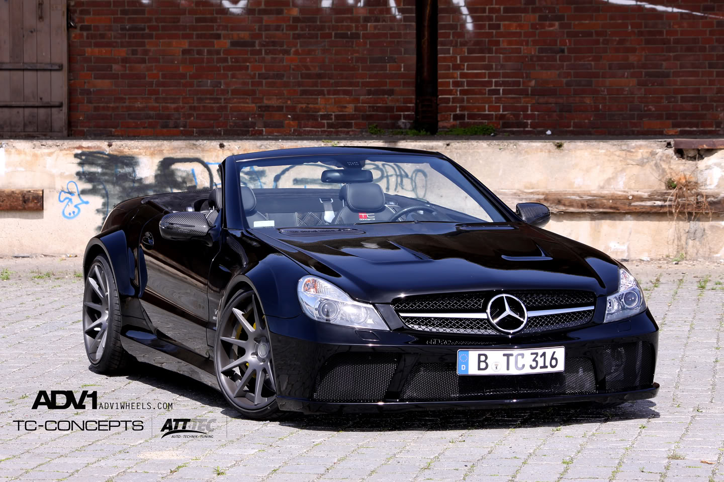 2010 Tc Concepts Sl65 Amg Black S 233 Ries Dark Cars