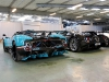 Ten Pagani Zonda Supercars at Headquarters Winter Parking