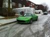 Tesla Roadster Braves Weather in Montreal