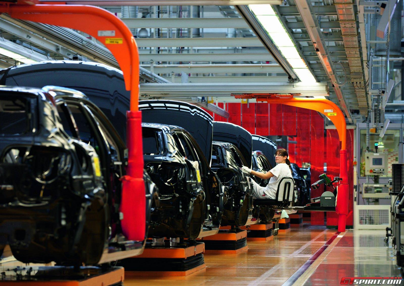 Завод Audi в Ингольштадте