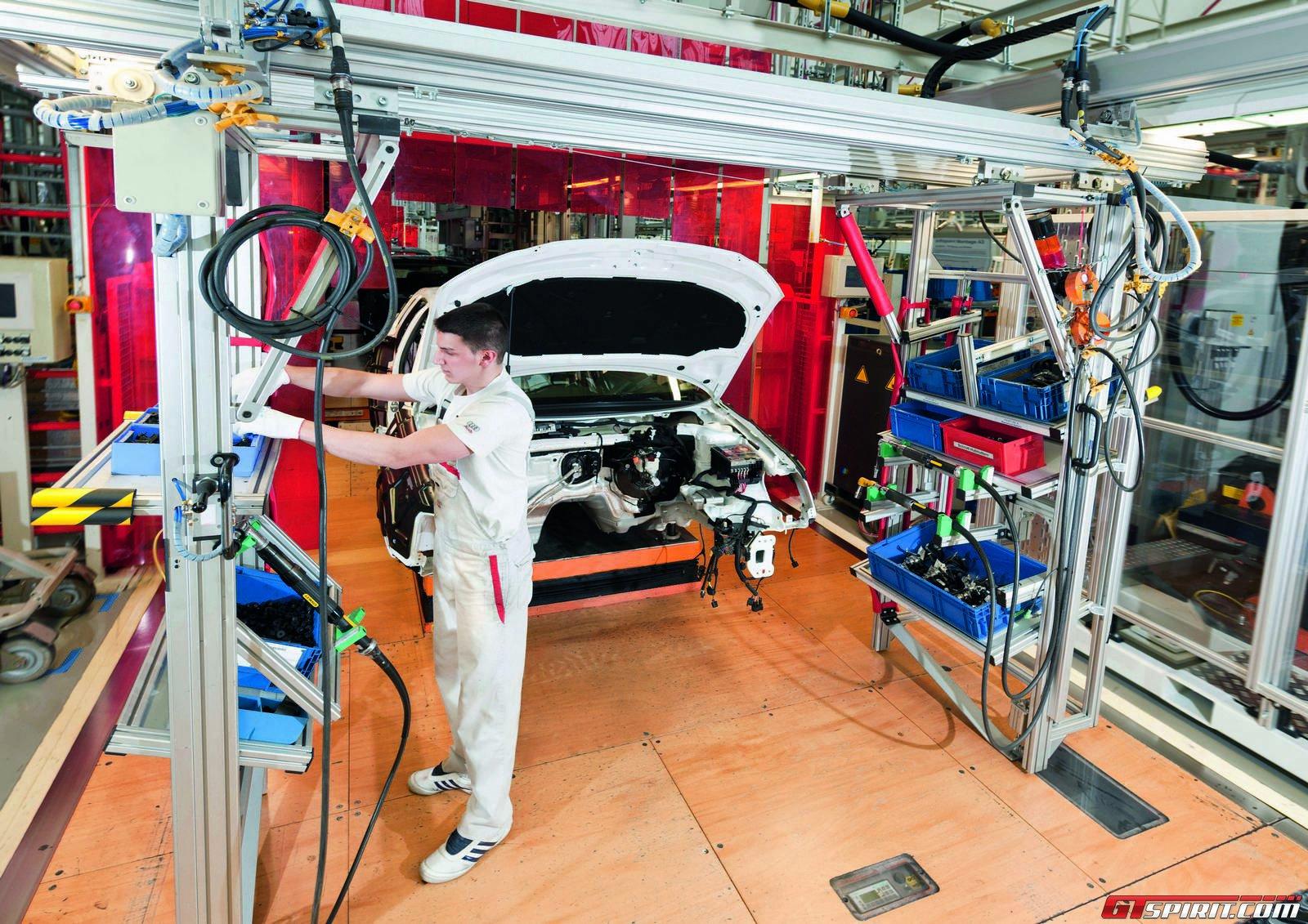 Завод Ауди в Ингольштадте, Германия