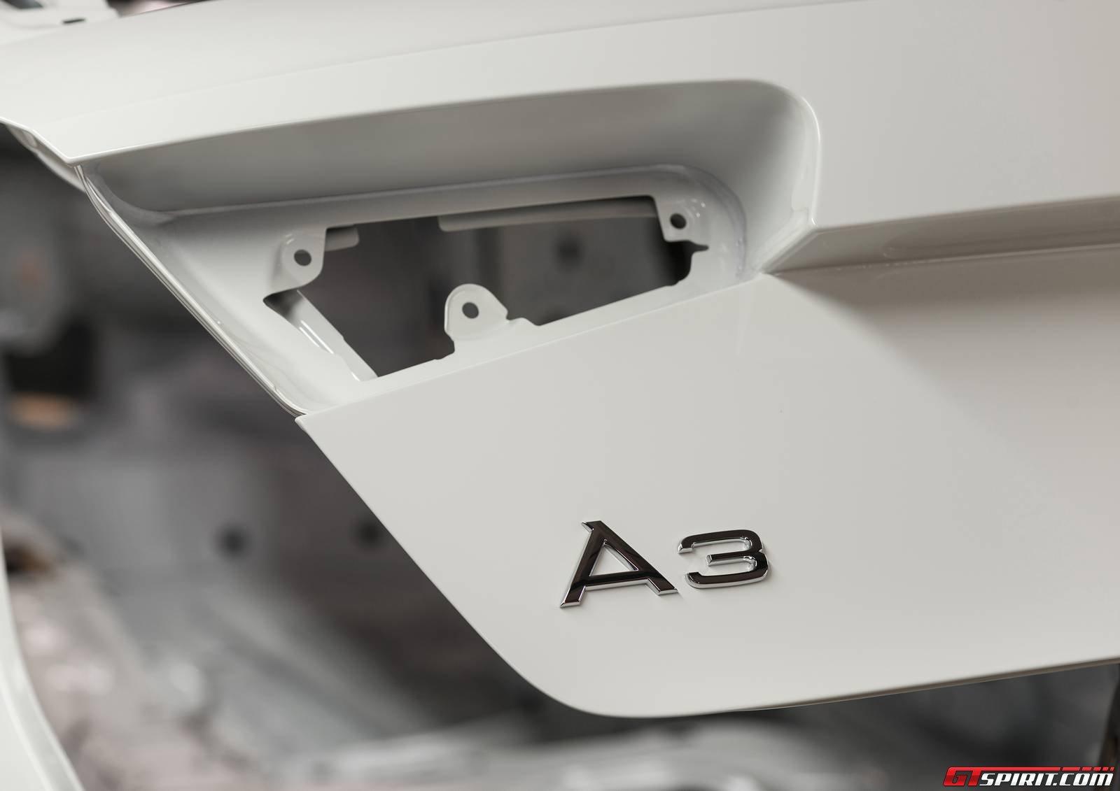 Audi A3. Завод Audi в Германии